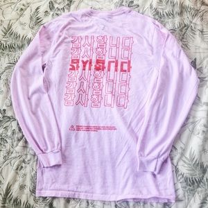 KORELIMITED Pink Long Sleeve